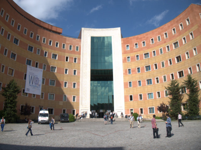 The Amazing Main Hall of the Yeditepe University