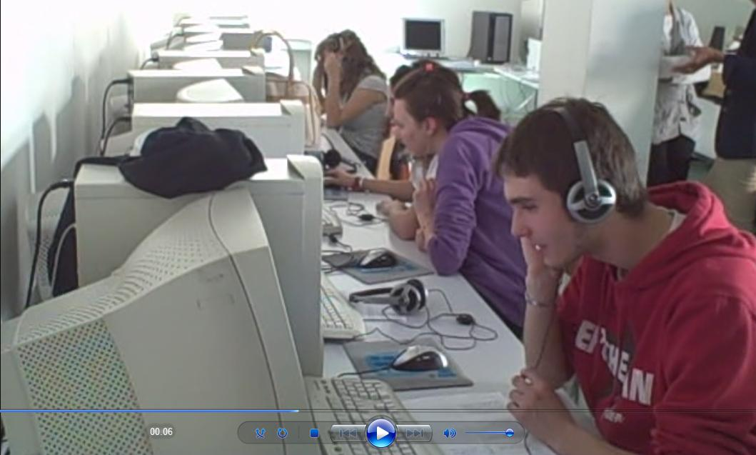 Students in Trentino, Italy
